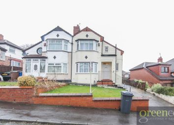 Thumbnail 3 bed semi-detached house for sale in Craigwell Road, Prestwich, Manchester