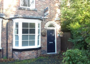 Thumbnail 2 bed terraced house to rent in Knight Street, Didsbury, Manchester