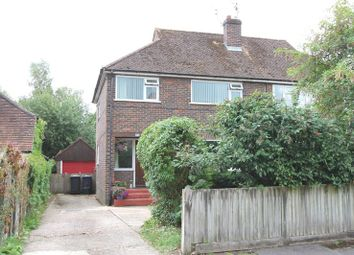 Thumbnail 3 bed semi-detached house to rent in Binscombe Crescent, Godalming