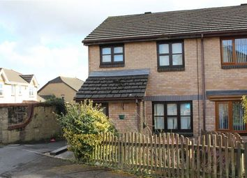 Thumbnail 3 bed semi-detached house for sale in Clos Ebol, Cwmrhydyceirw, Swansea