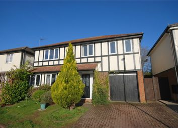 Thumbnail 4 bed detached house for sale in Kimble Close, East Hunsbury, Northampton