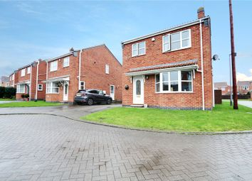 Thumbnail 3 bed detached house for sale in Fieldside Close, Thorngumbald, Hull