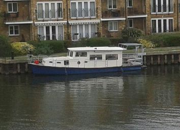 Thumbnail 1 bed houseboat for sale in Green Lanes, Hackney, London