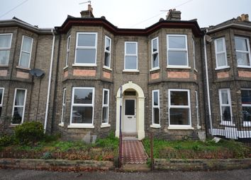 Thumbnail 3 bed terraced house to rent in Alexandra Road, Lowestoft