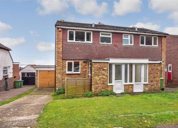 Thumbnail 3 bed semi-detached house for sale in Anson Grove, Portchester, Fareham, Hampshire