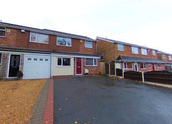 Tamworth Road, Kettlebrook, Tamworth B77. 3 bed semi-detached house for sale