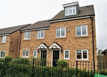 Thumbnail 3 bed semi-detached house to rent in Hall Drive, Newcastle Upon Tyne