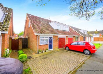 Thumbnail 3 bed semi-detached house for sale in Roakes Ave, Chertsey