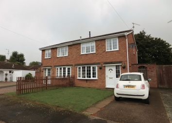 Thumbnail 3 bed semi-detached house for sale in Beech Close, Market Deeping, Peterborough