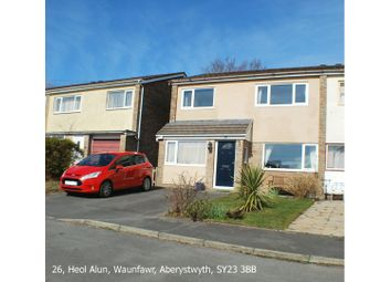 Thumbnail 3 bedroom semi-detached house for sale in Heol Alun, Aberystwyth