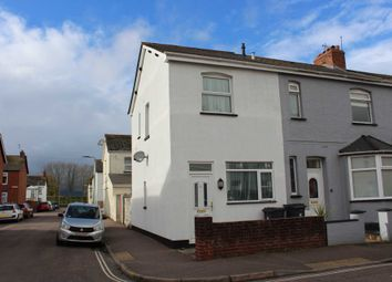 Thumbnail 2 bed end terrace house for sale in Rosebery Road, Exmouth