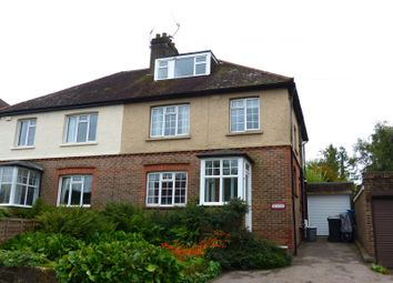 Thumbnail 4 bed semi-detached house for sale in St. Johns Road, St. Johns, Crowborough