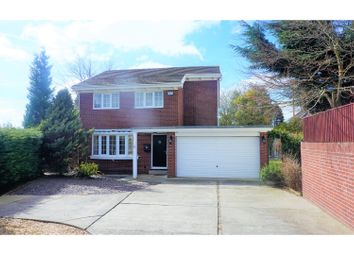 Thumbnail 4 bed detached house for sale in Woodlands Park Drive, Cadoxton