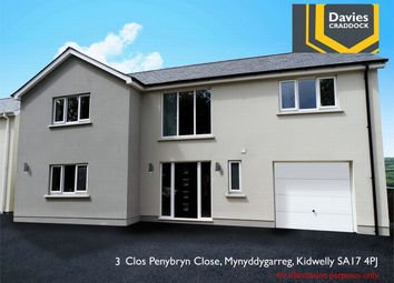 Thumbnail 4 bedroom detached house for sale in 3 Penybryn Close, Mynyddyarreg, Kidwelly, Carmarthenshire
