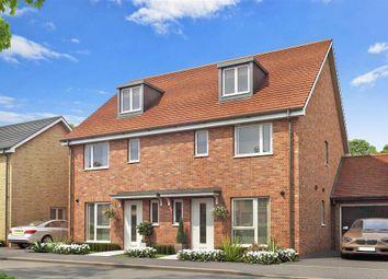 Thumbnail 3 bed semi-detached house for sale in Shoreham Crescent, Shoreham-By-Sea, West Sussex