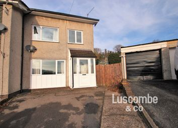 Thumbnail 3 bed semi-detached house to rent in Llyswen, Machen, Caerphilly