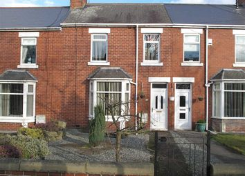 Thumbnail 3 bed terraced house to rent in Bridge Terrace, Bedlington
