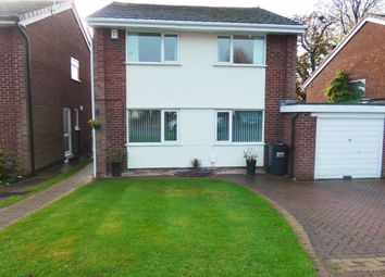 Thumbnail 3 bed link-detached house for sale in Branden Drive, Knutsford