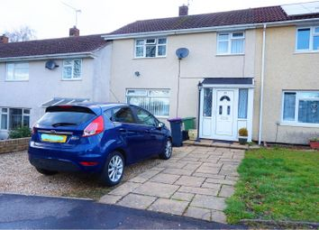 Thumbnail 3 bed terraced house for sale in Whitehouse Road, Cwmbran