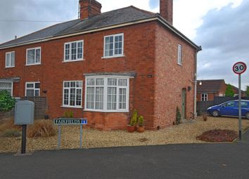 Thumbnail 3 bed semi-detached house for sale in Spalding Road, Holbeach, Spalding