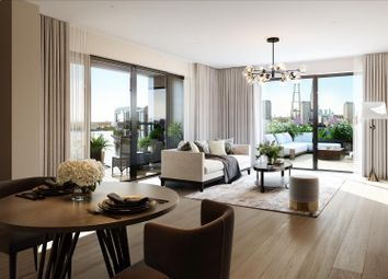 Thumbnail 2 bed flat for sale in Dock East, Canary Wharf