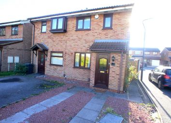 Thumbnail 2 bed town house to rent in Kestrels Croft, Sinfin, Derby