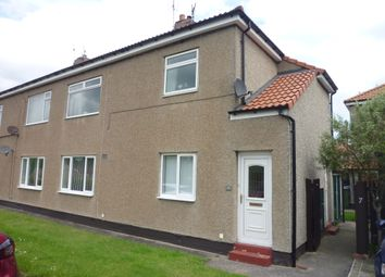 Thumbnail 1 bedroom flat for sale in Northcott Gardens, Seghill, Northumberland