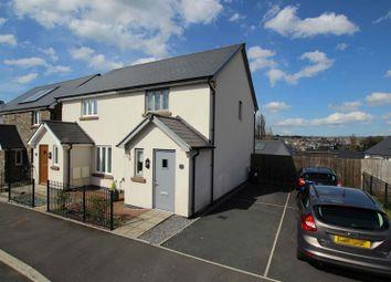 Thumbnail 2 bed semi-detached house for sale in St. Davids Park, Llanfaes, Brecon