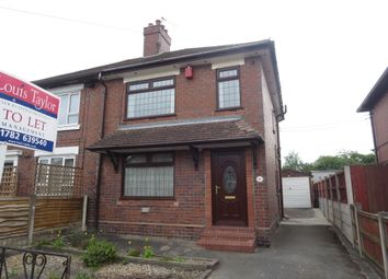 Thumbnail 2 bed semi-detached house to rent in Carmount Road, Stoke-On-Trent