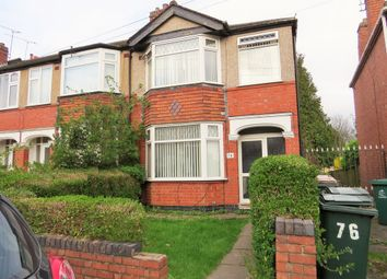 Thumbnail 3 bed terraced house to rent in Treherne Road, Radford, Coventry