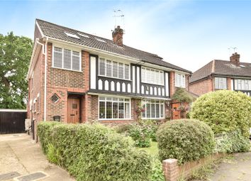 Thumbnail 5 bed semi-detached house for sale in Anglesmede Crescent, Pinner, Middlesex