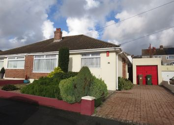 Thumbnail 2 bed semi-detached bungalow for sale in The Mead, Plympton, Plymouth