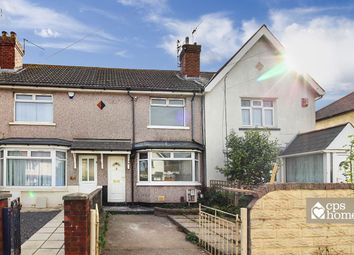 Thumbnail 2 bedroom terraced house for sale in Meredith Road, Cardiff