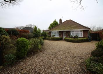 Thumbnail 3 bedroom detached bungalow for sale in Hall Road, Framingham Earl, Norwich