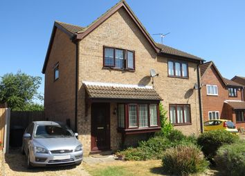 Thumbnail 2 bedroom property to rent in Meadow Close, Stilton, Peterborough