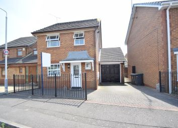 Thumbnail 3 bed detached house for sale in Chard Drive, Luton