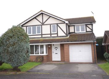 Thumbnail 4 bedroom detached house to rent in Littington Close, Lower Earley, Reading