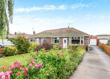 Thumbnail 2 bed semi-detached bungalow for sale in Snaith Road, Pollington, Goole