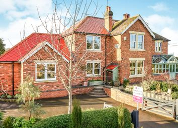 Thumbnail 5 bed semi-detached house for sale in Allens Lane, Marchington, Uttoxeter