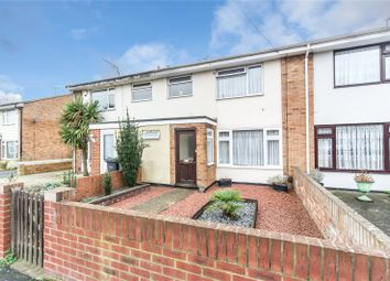 Thumbnail 3 bed terraced house for sale in Roehampton Close, Gravesend, Kent