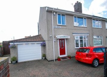 Thumbnail 3 bed semi-detached house for sale in Dorset Avenue, South Shields