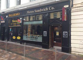 Thumbnail Restaurant/cafe for sale in John Street, Glasgow