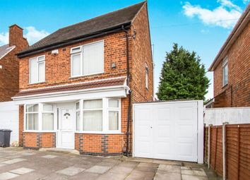 Thumbnail 3 bed detached house to rent in Egerton Avenue, Leicester