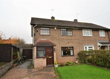 Thumbnail 3 bedroom semi-detached house for sale in Vicarage Road, Mickleover, Derby