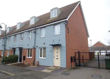 Thumbnail 3 bedroom end terrace house for sale in Farrow Avenue, Hampton Vale, Peterborough
