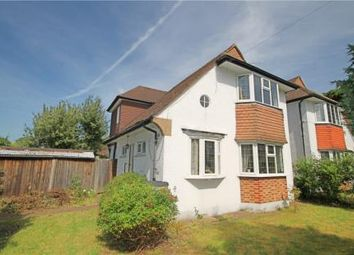 Thumbnail 3 bed detached house for sale in Portway Crescent, Ewell, Epsom