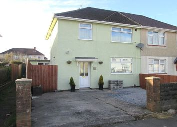Thumbnail 3 bed semi-detached house for sale in Gethin Close, Gendros, Swansea, City And County Of Swansea.