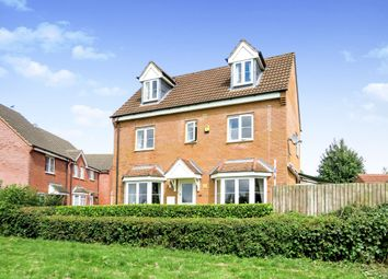 Thumbnail 4 bed detached house for sale in Creswell Place, Cawston, Rugby