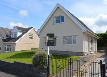 Thumbnail 3 bed detached house for sale in Rhyd Y Fenni, Crofty, Swansea
