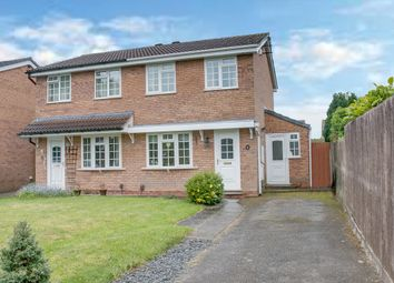Thumbnail 2 bed semi-detached house for sale in Michaelwood Close, Webheath, Redditch